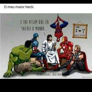 jesus herói